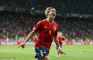 Fernando Torres Top Skor Euro 2012