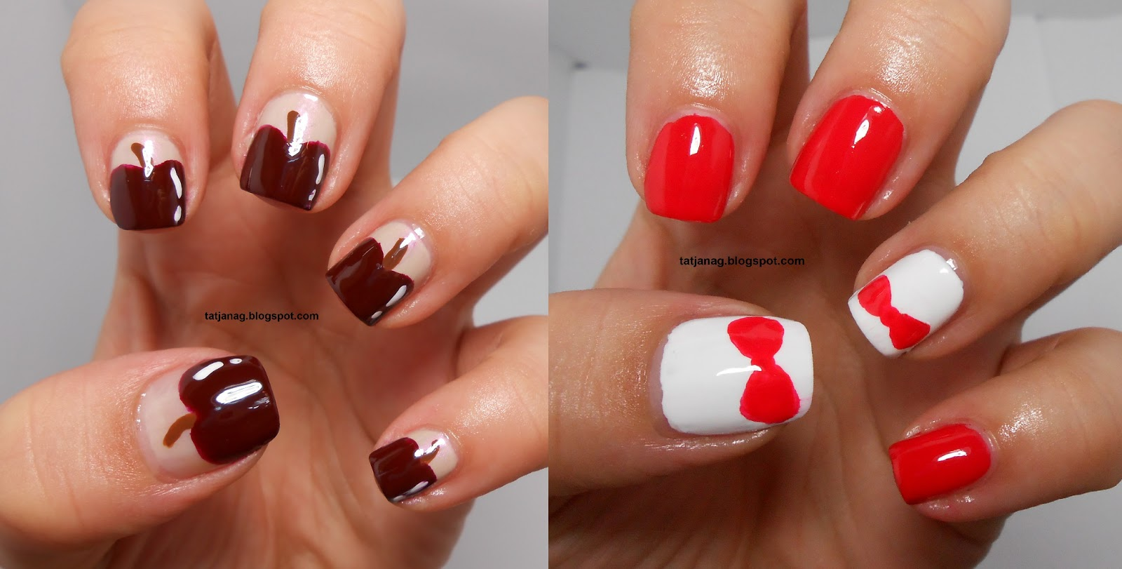 Nail art designs using brushes : Here are some nail art s i did using these brushes most of them you