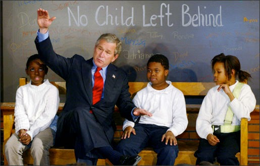 no child left behind is it It's been nearly four years since president george w bush signed into law the  no child left behind act (jan 8, 2002) – perhaps the most ambitious reform of.