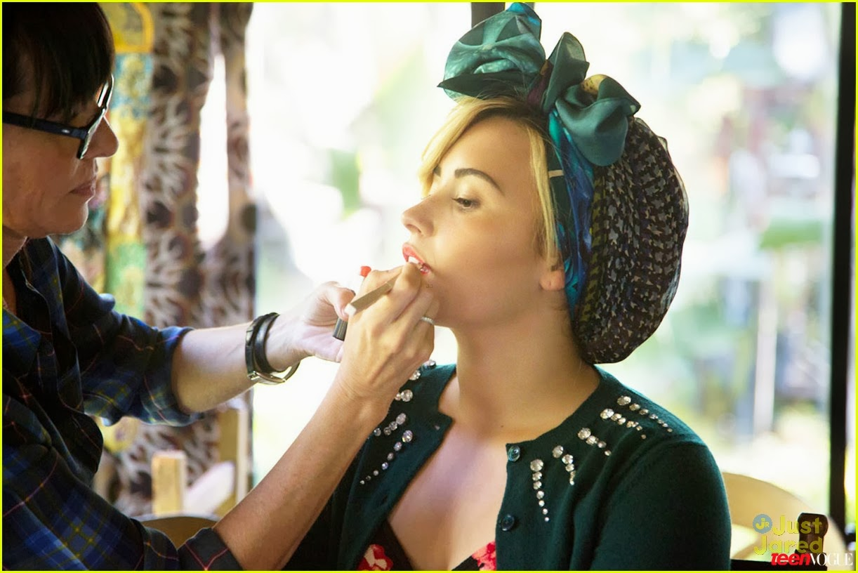 demi lovato self photoshoot - photo #34