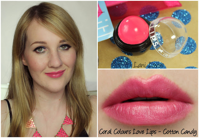 Coral Colours Love Lips - Cotton Candy review