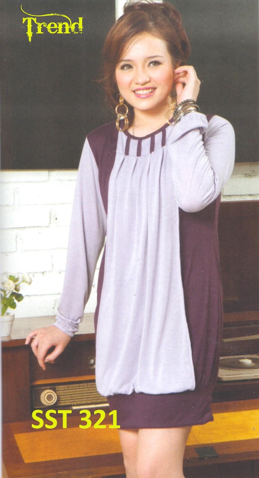 Fashion Baju 99 Baju Tunik Wanita Sst 321 Butik Toko