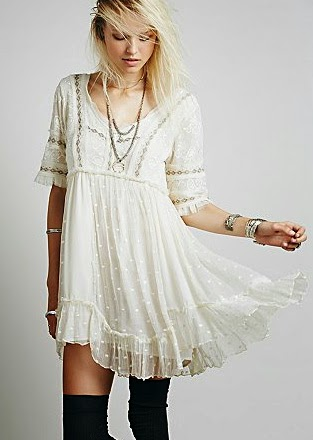 freepeople little dot mini dress