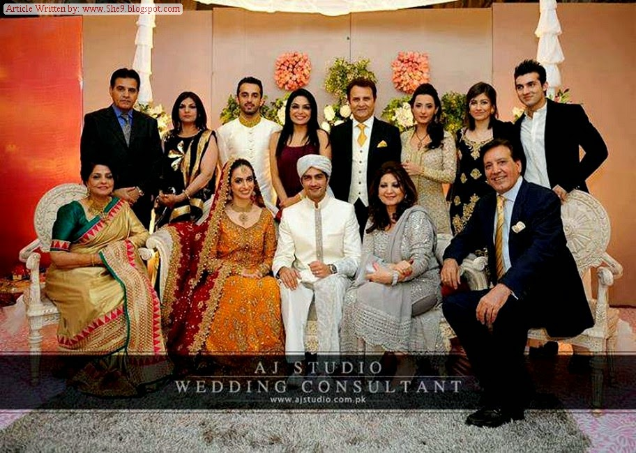 Wedding Picture Album of Shahzad Shiekh and Hina Mir