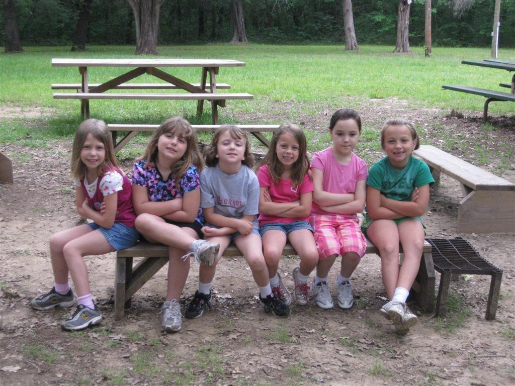 girl scout troop 2179 camp gambill 2011