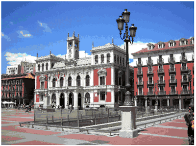 plaza mayor valladolid turismo-hoteles-castillayleon