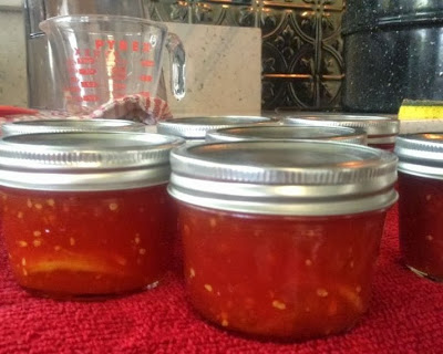 Canning tomatoes with sugar