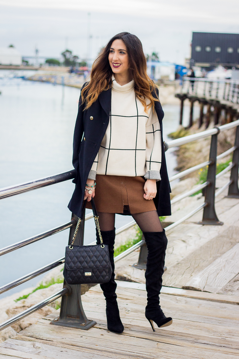 the knee boots