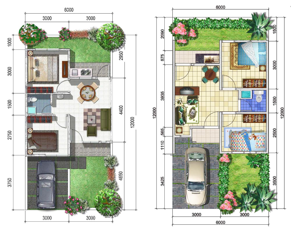 Inilah Desain Rumah 6 X 12 Yang Cocok Untuk Anda