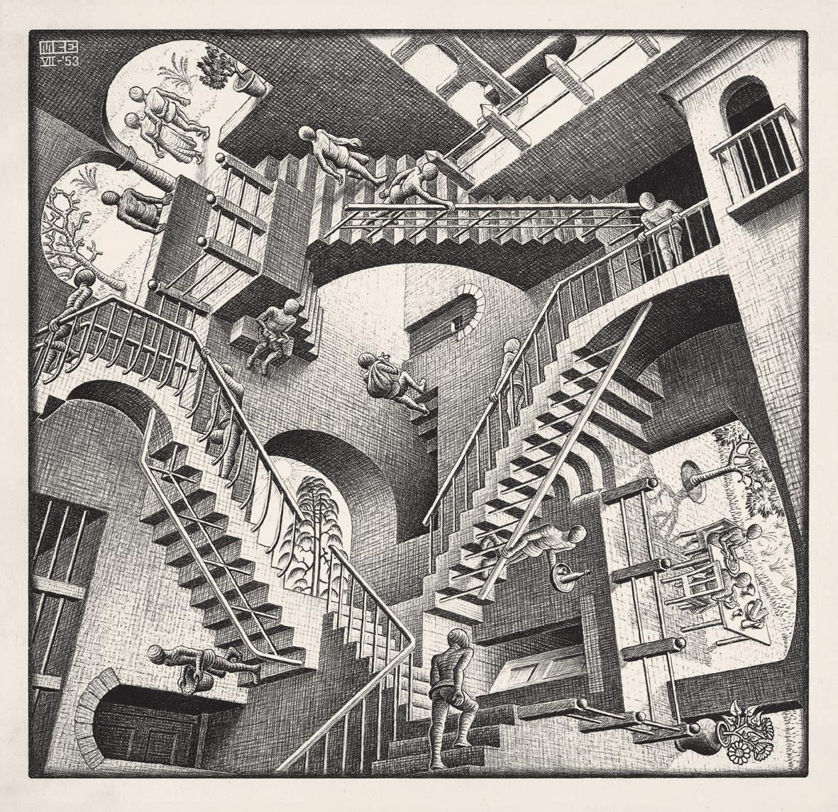 Contatto diretto l 39 enigma escher for Escher metamorfosi