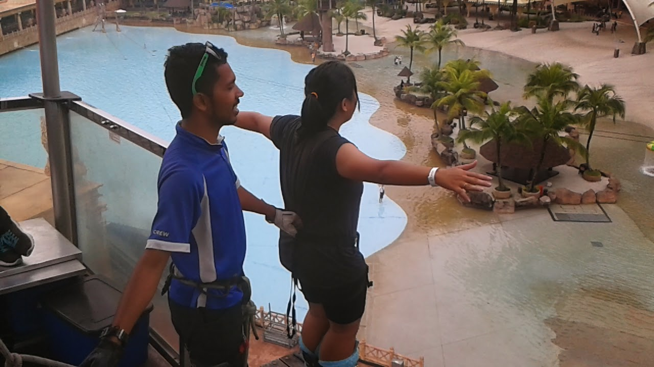 My Adventure Book: Sunway Lagoon - Bungee Jump and G-force ride