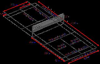 Ukuran lapangan Bulu Tangkis [badminton]