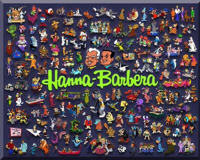 DESENHOS DA HANNA-BARBERA