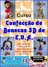 Curso Confecção de Bonecas 3D de E. V. A.
