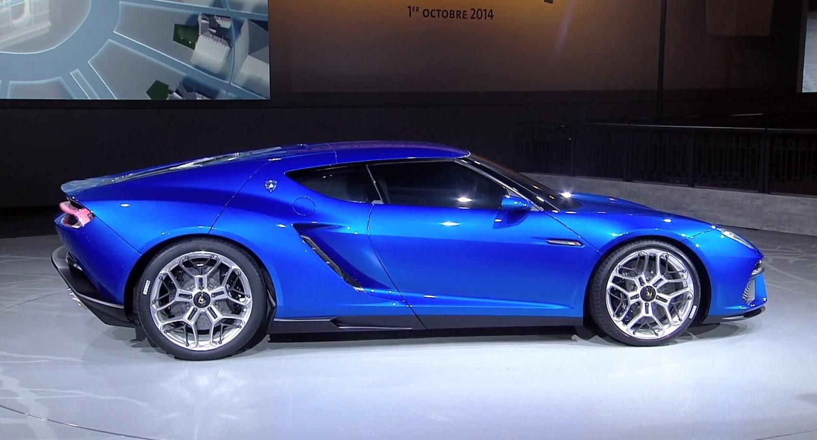 Фото премьеры Lamborghini Asterion в 2014 году