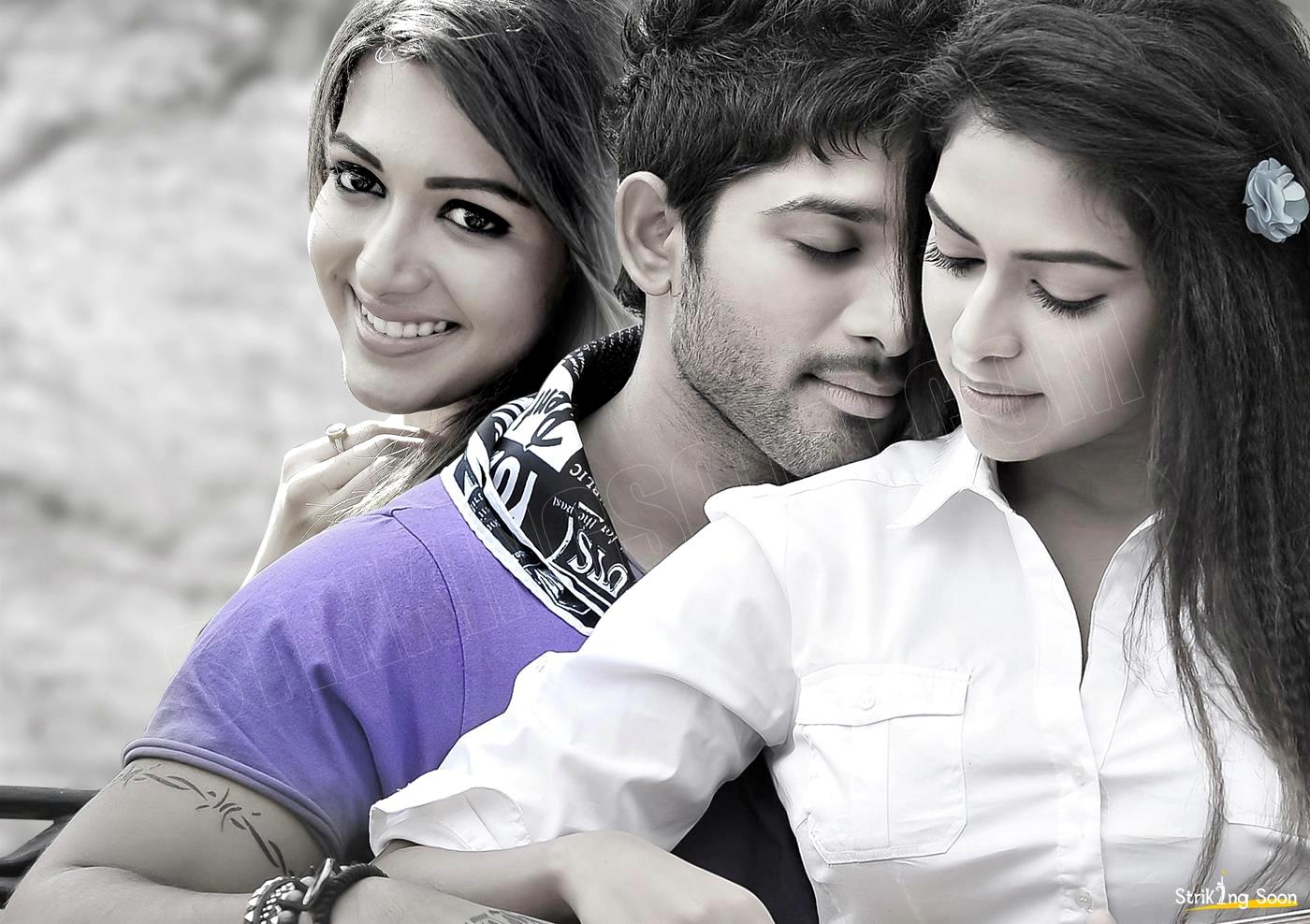 Allu Arjun , Amala Paul , Catherina Tresa starring Iddarammayilatho ...