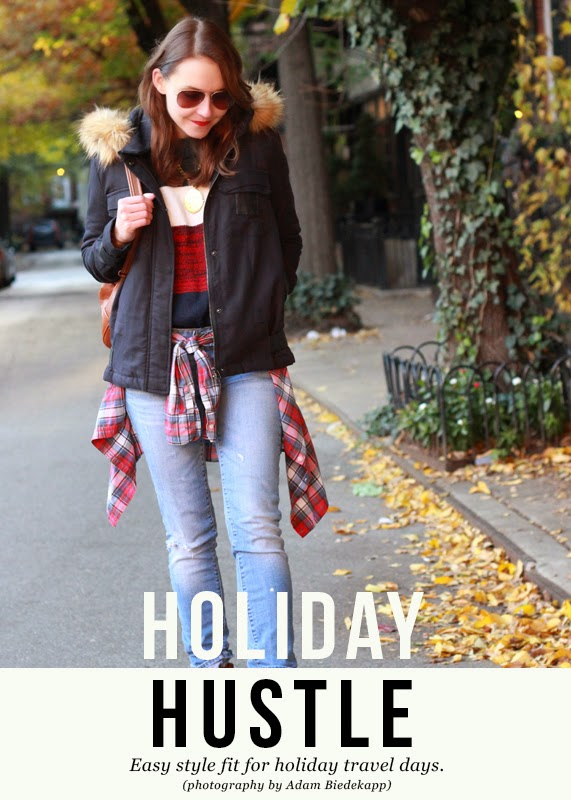 The Steele Maiden: Holiday Travel Style