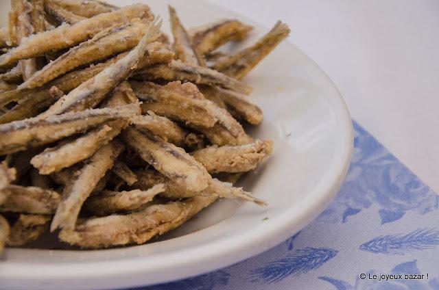 Procida - anchois frits