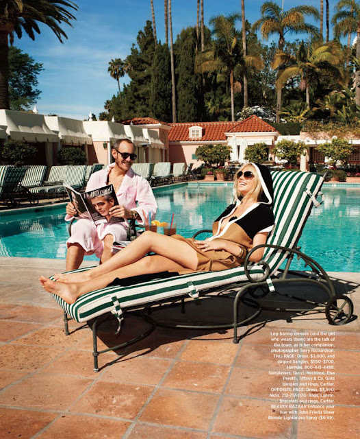 Kate Upton, Harper's Bazaar US, Terry Richardson, Andrew Richardson
