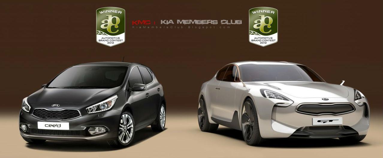 KIA Obtiene 3 Premios en el Automotive Brand Contest 2012