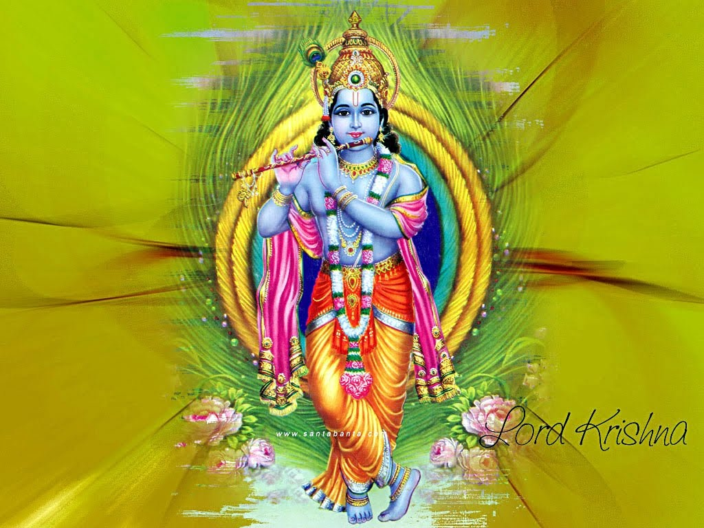 hindu gods hd wallpapers: lord krishan wallpapers