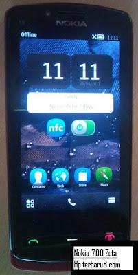 Spesifikasi Nokia 700 Zeta Terbaru 2011 | Handphone Terbaru