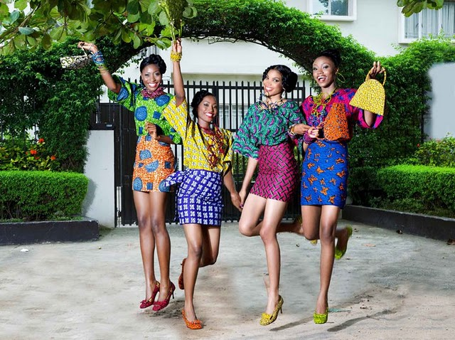 FAB:6FONGOS-By SwEeT FoNgOs: The Latest Lace And Ankara Trends In ...