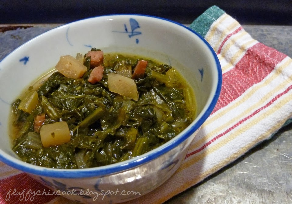 how to cook frozen turnip greens