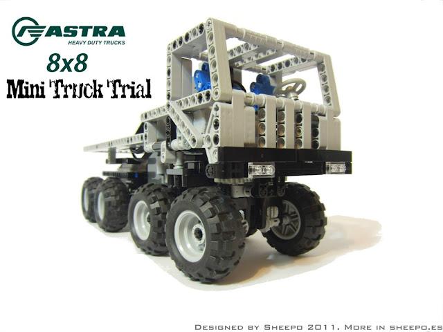 Astra 8x8 Mini Truck Trial