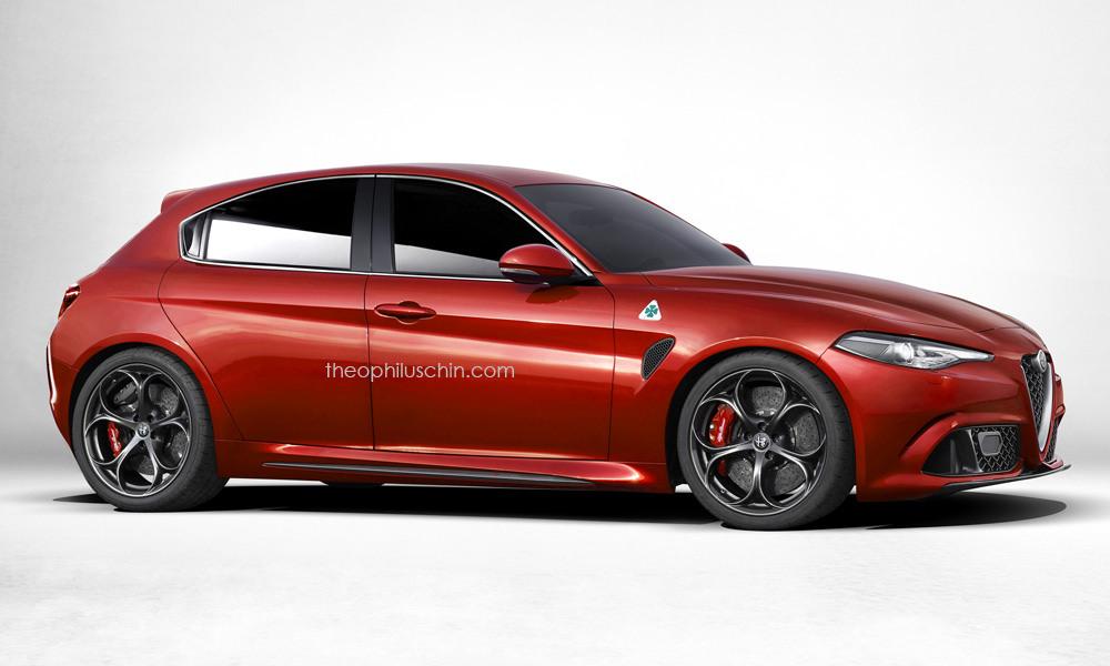 Next gen alfa romeo giulietta could be rear wheel drive