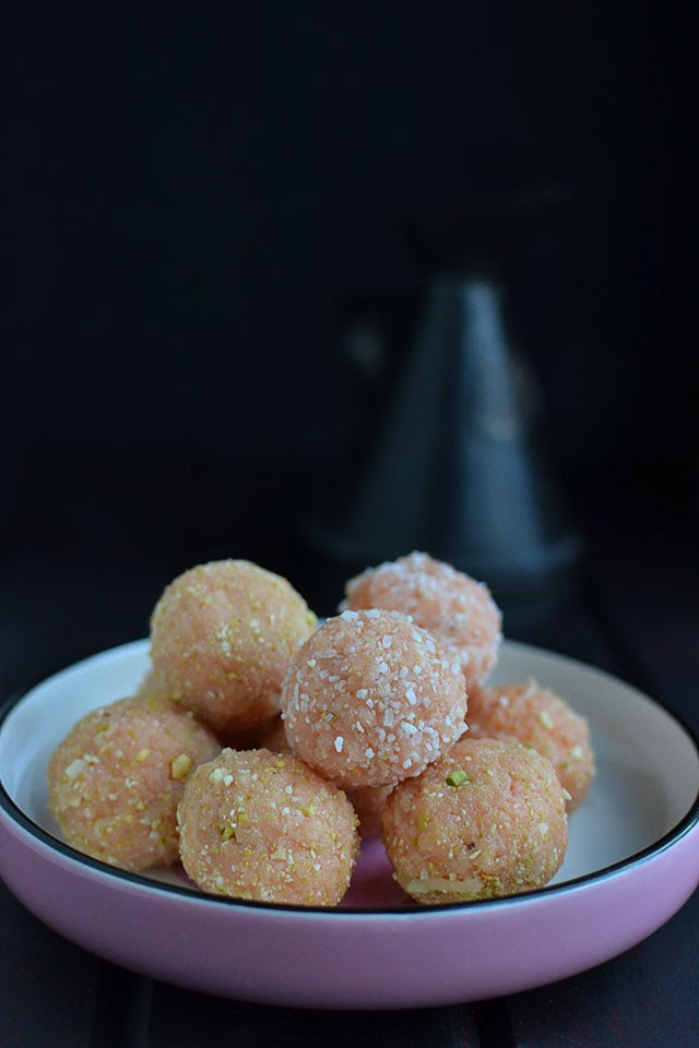 Coconut and Nut Laddoo
