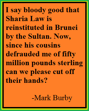 Give Sharia Law A Big Hand!