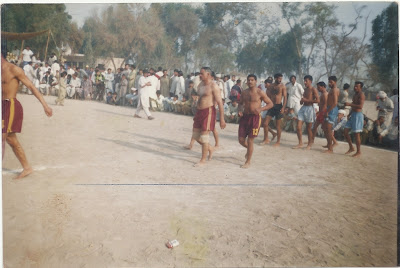 Previous Kabaddi team of Ch Muhammad Mansha Gujjar