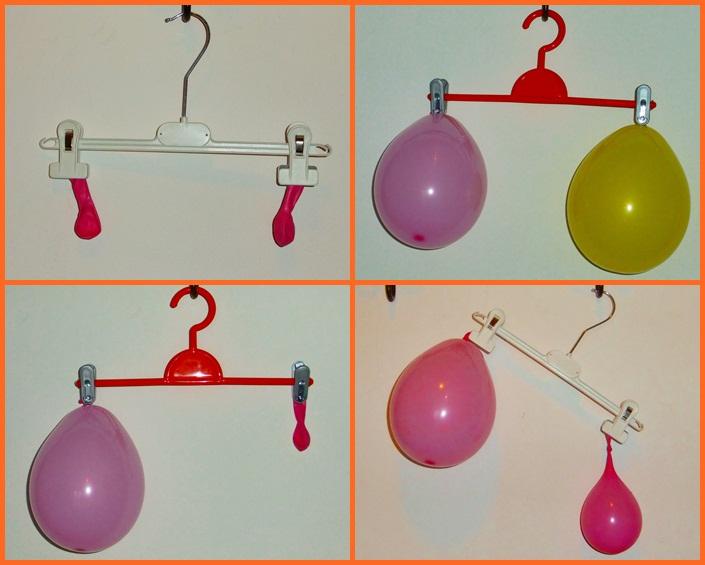 Studiamando liberamente venti piccoli esperimenti con l 39 aria - Immagine con palloncini ...