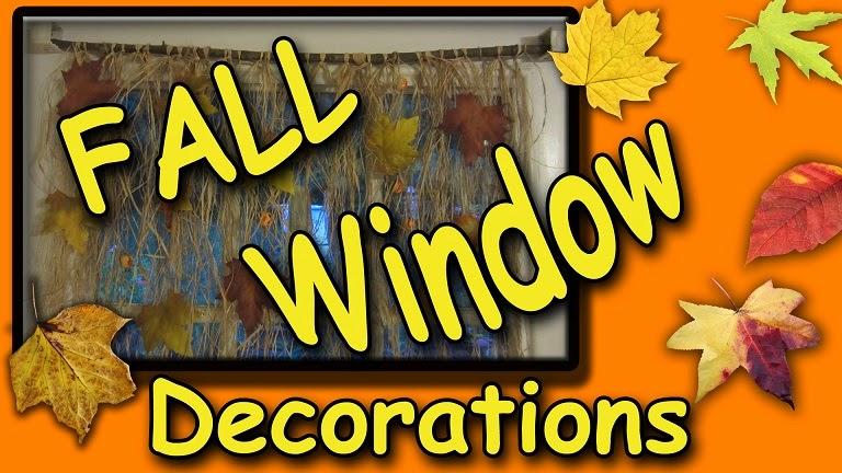Easymeworld diy fall window decorations - Window decorations for fall ...