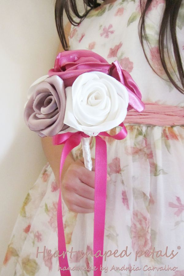 Vintage inspired rose bouquet