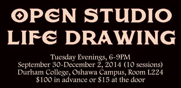 Durham College Open Studio Life Drawing