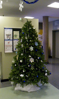 the traditional Christmas tree, Vancouver West End Community Centre