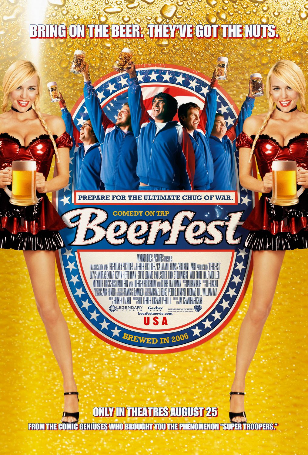 Beerfest is a complex, multi layered film that defies easy analysis.