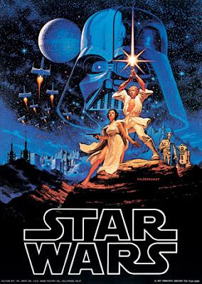 Star Wars poster, Brothers Hildebrandt