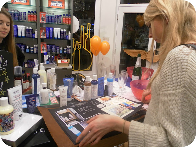Kiehl's Nottingham Blogger Event