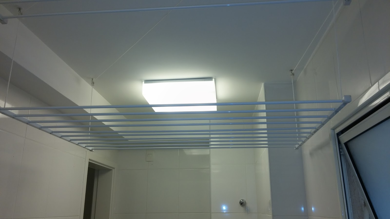 Muito Varal de teto com manivela | Varais e Varal, Vendas, dicas e sugetões DA66