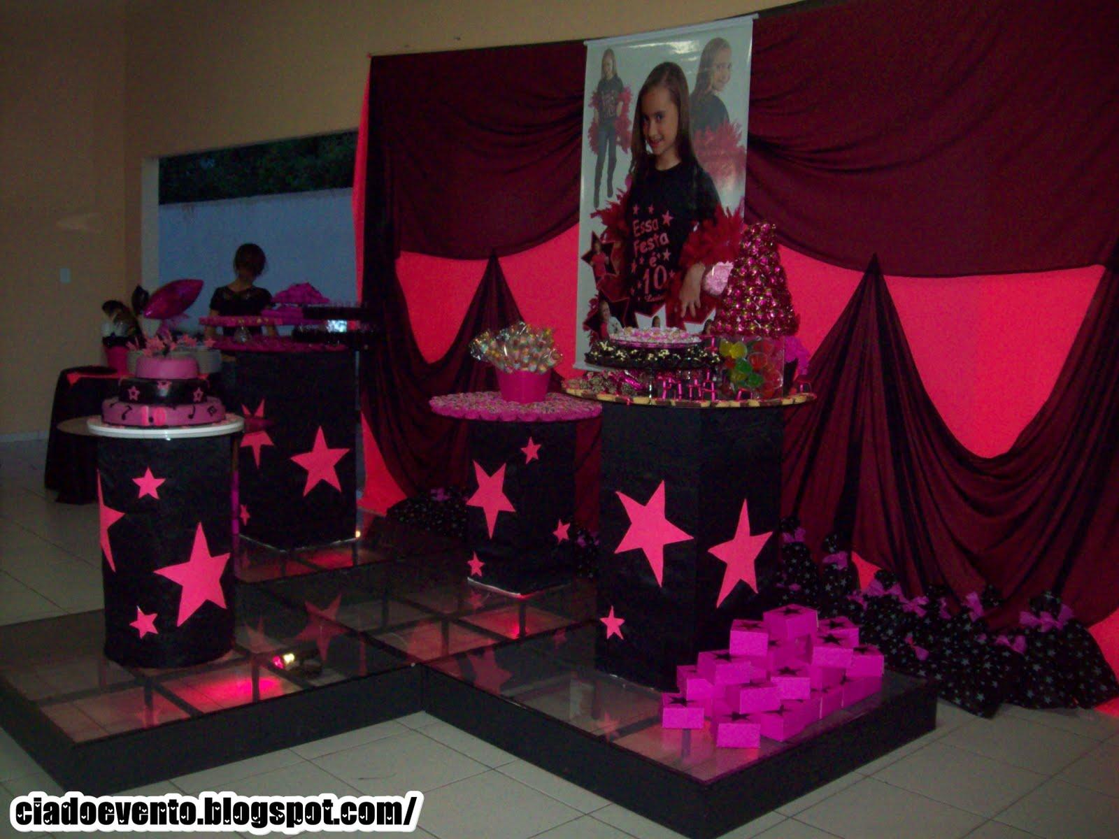 Eventos Cia Aniversário Infantil Tema 10 Anos Show