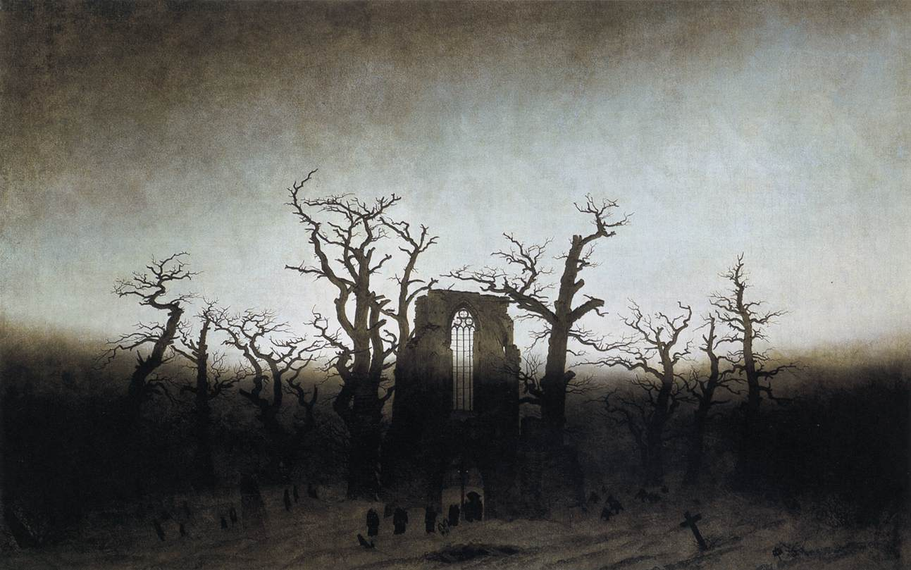 Metal on metal caspar david friedrich 1774 1840 The oakwood