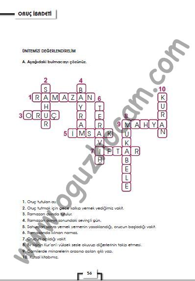 7sınıf Din Kültürü Ve Ahlak Bilgisi Kitabı Cevapları Sayfa 35 56 57