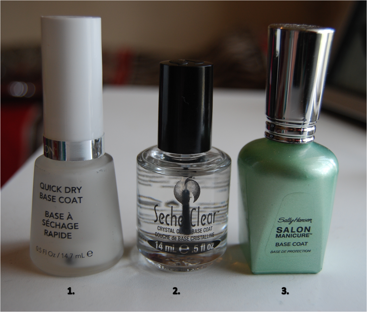 Just Nail-in\': The Best.. Base Coats