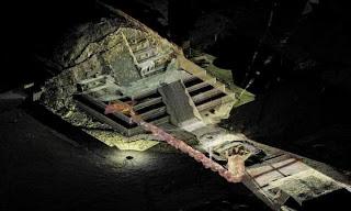 Merkuri Cair Ditemukan di bawah Teotihuacan
