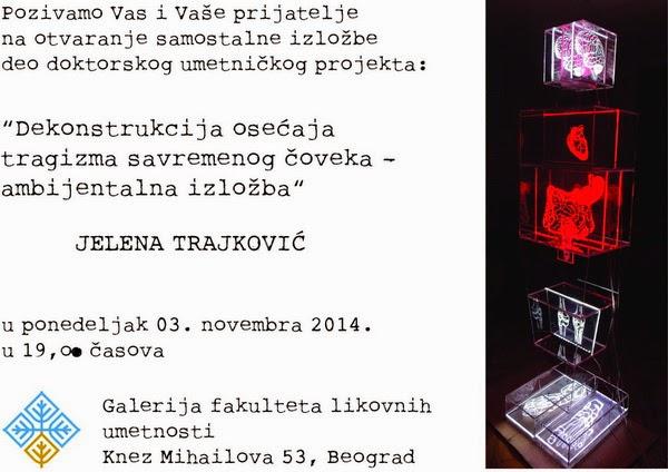 Izložba Jelene Trajković