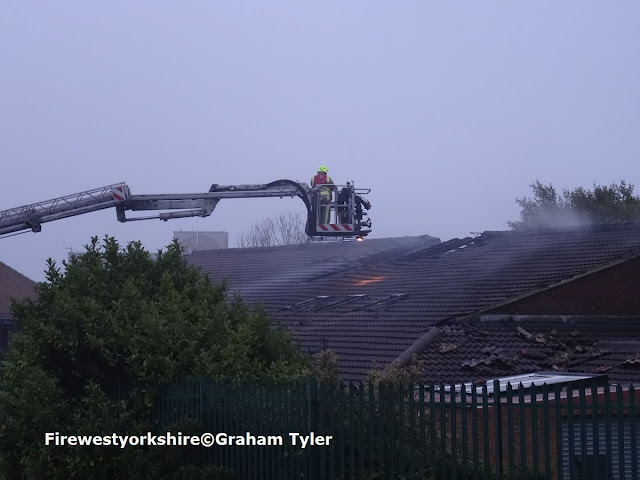 Copgrove Road, Holme Wood, Bradford,Building, fire, ALP