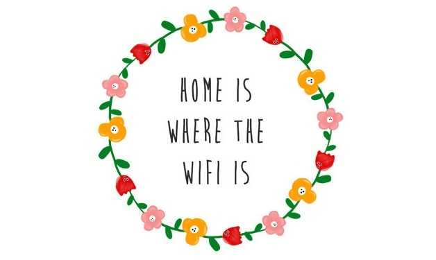 Home is where the wifi is